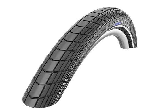 Покрышка 26x2.00 (50-559) BIG APPLE Perf, RaceGuard SCHWALBE