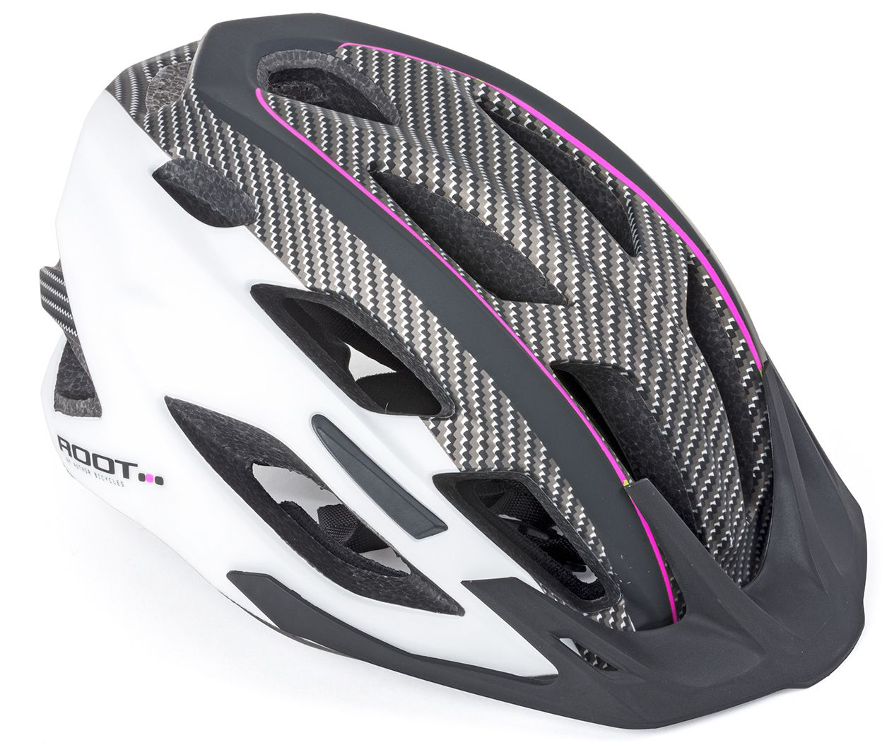 Шлем спортивный ROOT INMOLD ASL 161 PINK/WHITE/BLACKр-р 53-59см AUTHOR