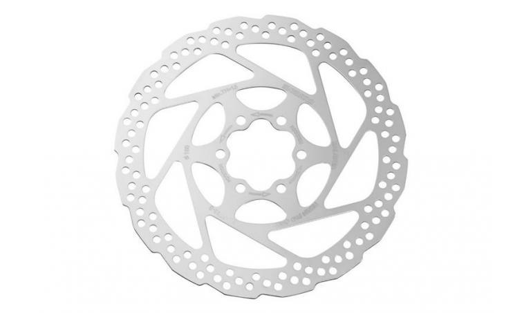 Тормозной диск ESMRT56SC для диск.тормоза RT56, 160мм, только для пласт. колодок SHIMANO