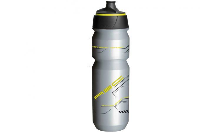 Фляга AB-Tcx-Shanti X9 0.85л серебристо-неоновая TACX/AUTHOR(Голландия)