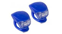Фонарики-брелоки передний+задний COBRA M-WAVE