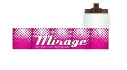 Фляга AB-MIRAGE WHITE/PINK AUTHOR