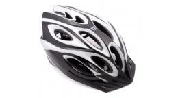 Шлем спортивный SKIFF 115 BLACK/WHITE р-р 58-62см AUTHOR