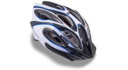 Шлем спортивный SKIFF 143 BLUE/WHITE/BLACK р-р 58-62см AUTHOR