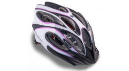 Шлем спортивный SKIFF 144 PURPLE/WHITE/BLACK р-р 58-62см AUTHOR