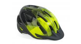 Шлем спортивный REFLEX LED 174 YELLOW-NEON/BLACK р-р 52-58см AUTHOR
