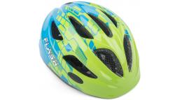 Шлем подростковый FLASH 161 GREEN/BLUE INMOLD р-р 51-55см AUTHOR