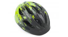 Шлем подростковый FLASH 171 GREY/YELLOW INMOLD р-р 47-51см AUTHOR