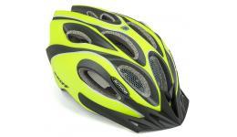 Шлем спортивный SKIFF 171 NEON-YELLOW/BLACK р-р 52-58см AUTHOR