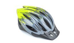 Шлем WIND 174 GREY/YELLOW-NEON р-р 54-58 cм AUTHOR