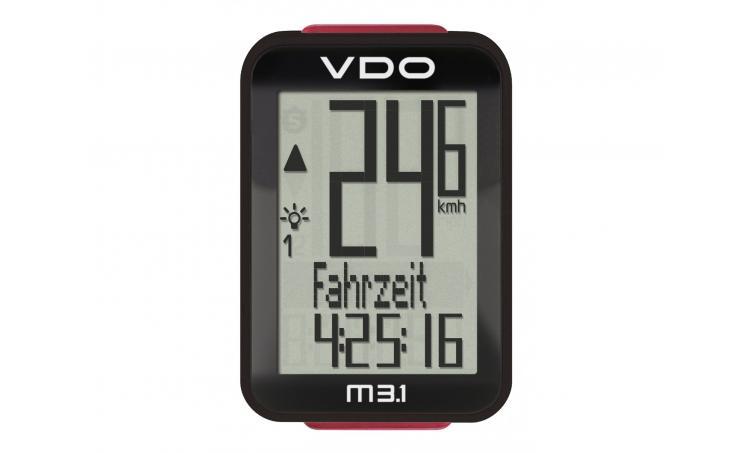 Велокомпьютер VDO M3.1WL