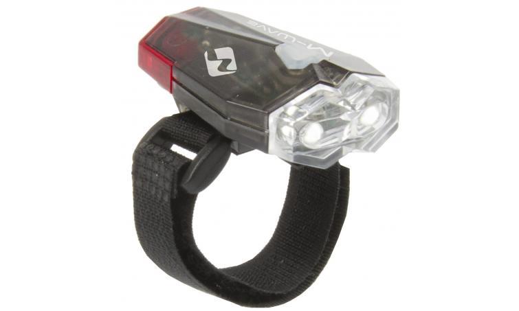 Фара передняя с задним фонарем  USB  M-WAVE