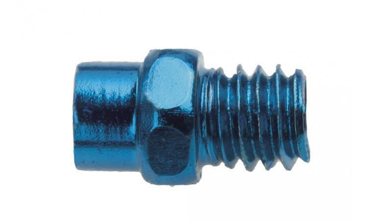 Шипы для BMX педалей синие EXUSTAR