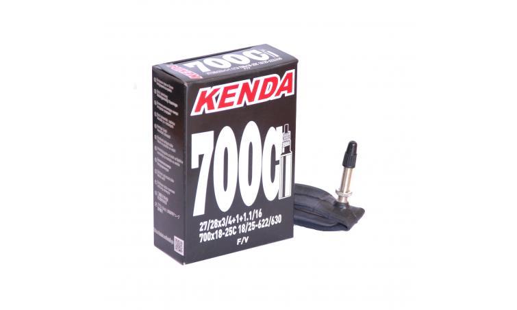"Камера KENDA 28"" 700 х 18-25С, спорт ниппель"