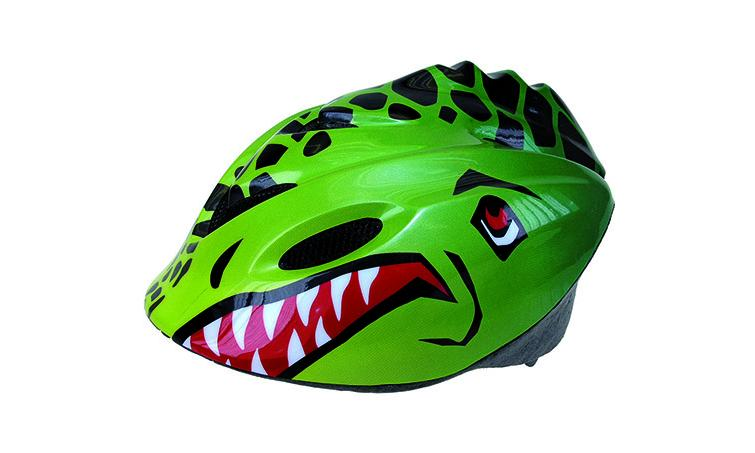 Шлем детский р-р 52-57см зеленый  REX VENTURA