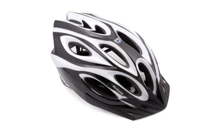 Шлем спортивный SKIFF 115 BLACK/WHITE р-р 52-58см AUTHOR
