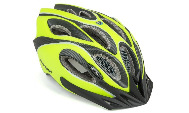 Шлем спортивный SKIFF NEON-YELLOW/BLACK 171 р-р 58-62см AUTHOR
