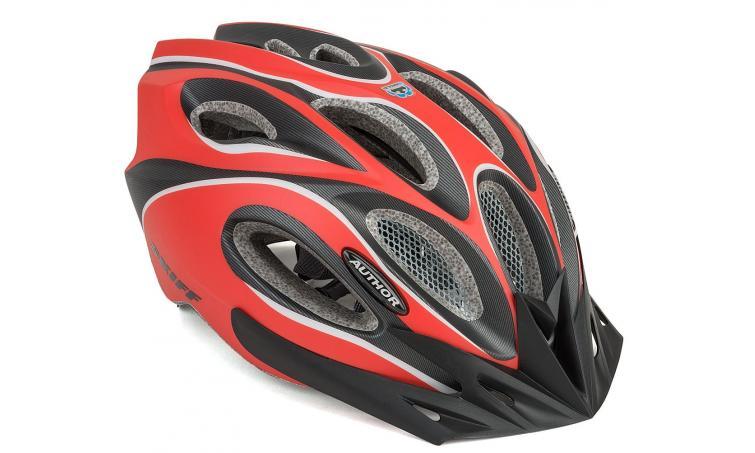 Шлем спортивный SKIFF 172 RED/BLACK р-р 58-62см AUTHOR