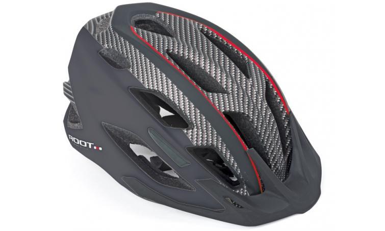 Шлем спортивный ROOT INMOLD 152 RED/BLACK р-р 59-61см AUTHOR