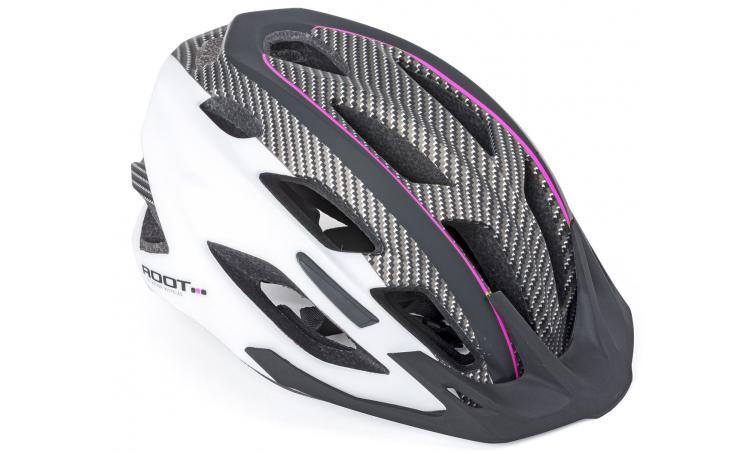 Шлем спортивный ROOT INMOLD ASL 161 PINK/WHITE/BLACKр-р 53-59см AUTHOR