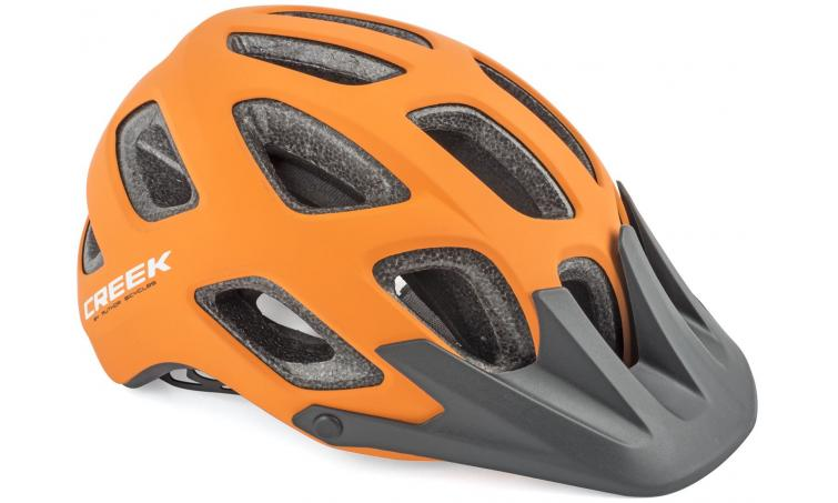 Шлем спортивный CREEK HST 161 ORANGE р-р 57-60 см AUTHOR