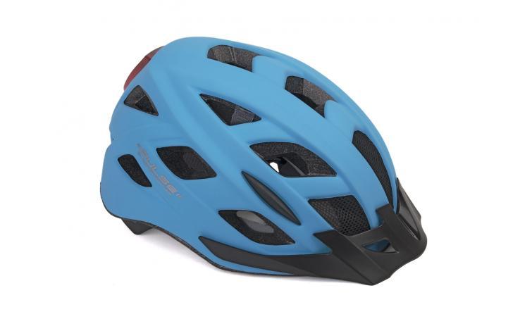 Шлем PULSE LED X8 183 BLUE-NEONр-р 52-58 см AUTHOR