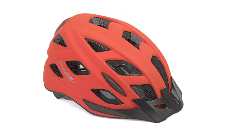 Шлем PULSE LED X8 185 RED-NEON р-р 52-58см AUTHOR