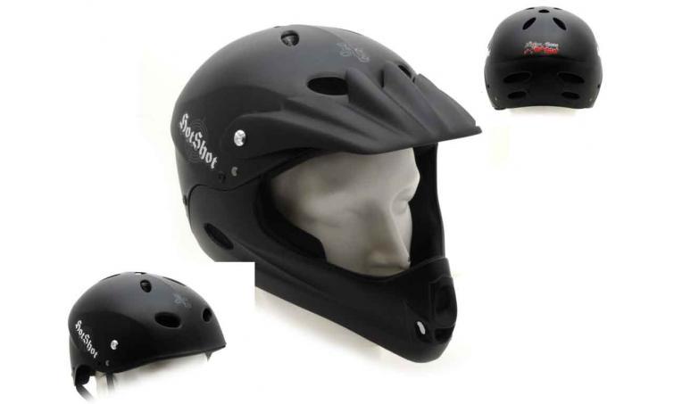 Шлем HOT SHOT 081 BLACK р-р 54-60см AUTHOR