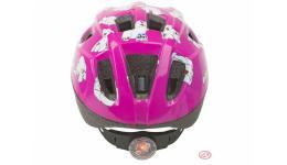 Шлем 8-9089980 детский с фонариком 48-54см  AUTHOR