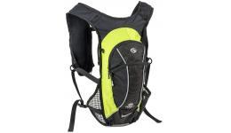 Рюкзак спортивный TURBO-6 VEST черно-зел. AUTHOR 8-8100290