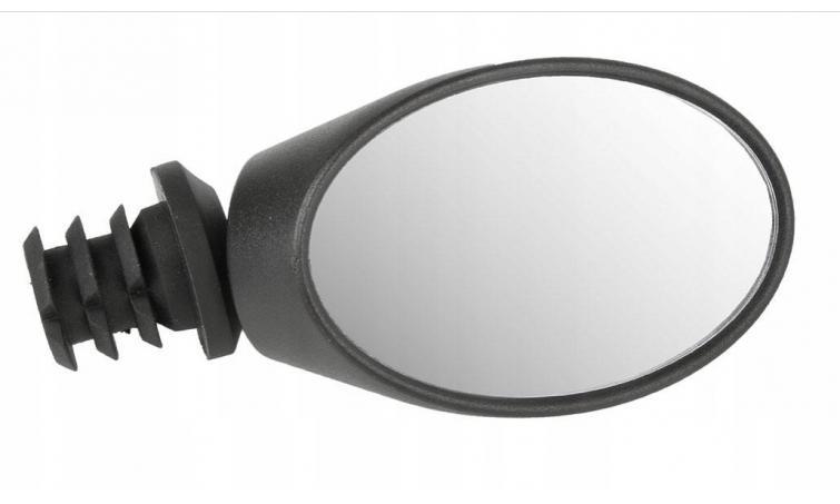 Зеркало овальное черное M-WAVE