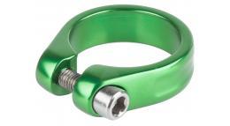 Хомут 5-250965 подседельный 34,9мм зеленый M-WAVE