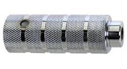 Пеги 5-329982 на ось BMX 38х110 сталь резьба М14х1.0 серебр.