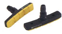 Тормозные колодки PROMAX 70мм  черно-желтые 5-361765