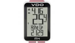 Велокомп. 4-3004 VDO M4 с альтим. 12ф-ций+16ф-ций (60) темпер-ра черно-белый (Германия) SALE