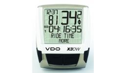 Велокомп. 4-7113 VDO Х3-DW 23 ф-ции беспроводной цифр. (10) черно-белый (Германия) АКЦИЯ!!!