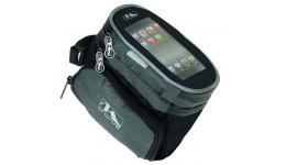 Сумочка/чехол+бокс 5-122376 на раму д/смартфона 160х110х130мм 2бок. кармана влагозащ. черная M-WAVE