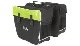 """Сумка 5-122805 """"штаны"""" на багажн. """"2в1"""" V=30л (5) черно-зеленая M-WAVE"""