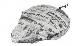 """Седельная 5-137921 покрышка универс. """"2в1"""" полиурет. наполн.+полиэстер защ.от дождя """"газета"""" M-WAVE"""
