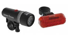 Фара+фонарь 5-221075 5д/2ф с линзами+5д/4ф красный с батар. VENTURA