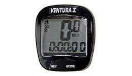 Велокомп. 5-244550 10 ф-ций (120) черный VENTURA Х