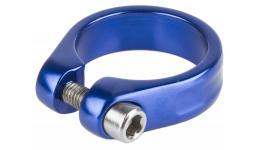 Хомут 5-250964 подседельный 34,9мм синий M-WAVE