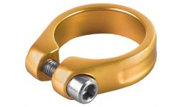 Хомут 5-250966 подседельный 34,9мм золотистый M-WAVE