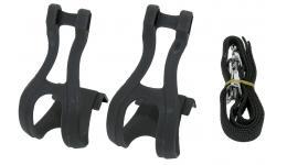 Туклипсы 5-313136 с ремешками универс. р-р M/L черные