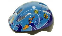 Шлем .детский/подростк. 5-731000 с сеточкой 6отв. 52-56см SEA WORLD/голубой (10) VENTURA