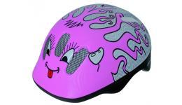 Шлем .детский/подростк. 5-731006 с сеточкой 6отв. 52-56см CURLY/розовый (10) VENTURA