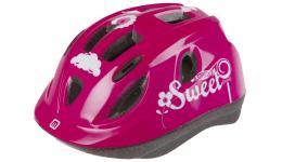 Шлем .детский/подростк. 5-731884 с сеточкой 12отв. INMOLD 48-54см SWEET/розовый (10) MIGHTY JUNIOR