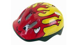 Шлем .детский/подростк. 5-734040 с сеточкой 6отв. 50-57см LITTLE DEVIL/красно-желтый (10) VENTURA