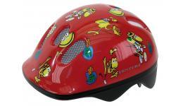 Шлем .детский/подростк. 5-734070 с сеточкой 6отв. 48-52см FROGS/красный (10) VENTURA