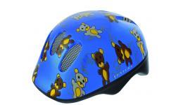 Шлем .детский/подростк. 5-734072 с сеточкой 6отв. 48-52см TEDDY/голубой (10) VENTURA